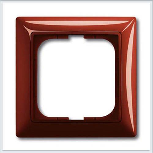 Фойе — красный Рамка 1-ая ABB Basic 55 1725-0-1516