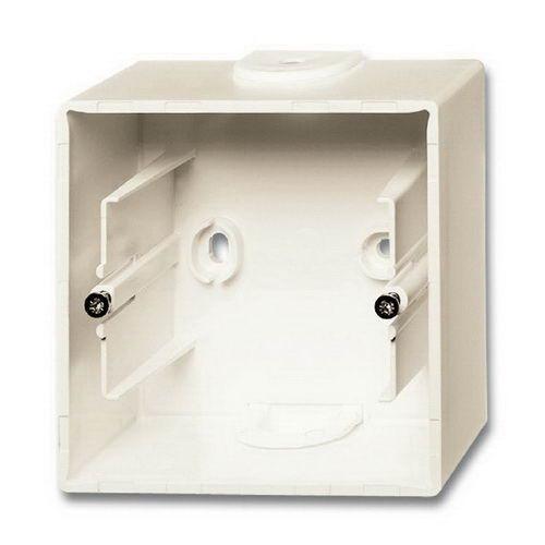 Коробка для открытого монтажа, 1-постовая бежевая Basic 55  1799-0-0971