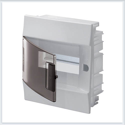 ABB Mistral41 Бокс в нишу 8М прозрачная дверь - 1SLM004101A2202