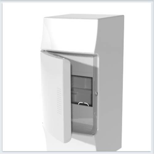 ABB Mistral41 Бокс настенный 4М непрозрачная дверь - 1SPE007717F0210