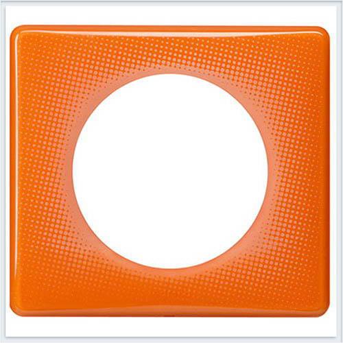 Рамка 1-ая Муар оранжевый Legrand Celiane 66651
