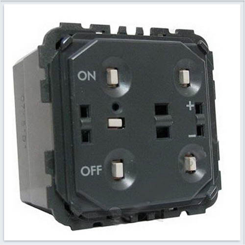 Механизм светорегулятора нажимного 400 Вт Legrand Celiane 67083