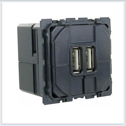 Механизм USB розетки двойной Legrand Celiane 67462