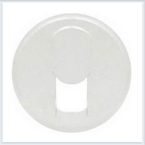Накладка ТЛФ 1-ой розетки белая Legrand Celiane 68237