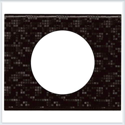 Рамка 1-ая Кожа блэк пиксел Legrand Celiane 69451