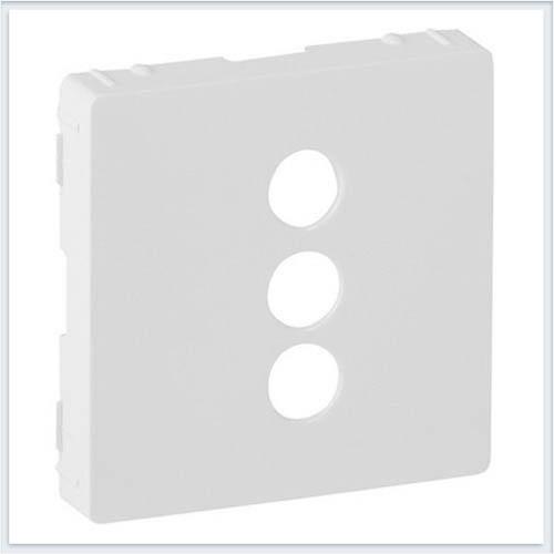 Накладка для розетки RCA Белая Valena Life 754720
