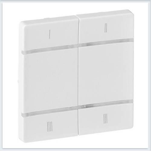 Накладка для 4-сценарного радиоуправляющего устройства Белая Valena Life 754803