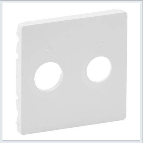 Накладка для розеток TV-SAT Белая Valena Life 754820