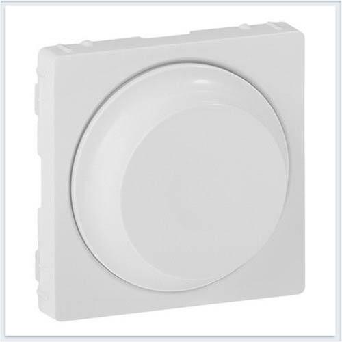 Накладка для светорегулятора с поворотной ручкой Белая Valena Life 754880