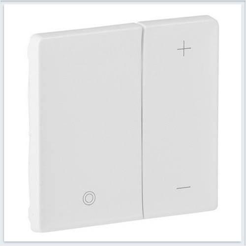Накладка для кнопочного светорегулятора Белая Valena Life 754890