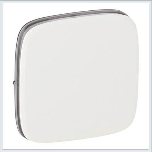 Накладка для выключателей одноклавишных Белая Valena Allure 755005