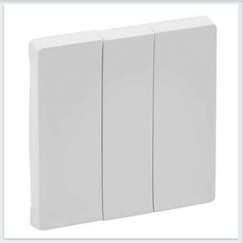 Клавиши для выключателя трехклавишного Белая Valena Life 755030