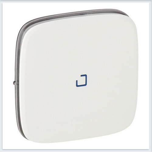 Выключатель 10АХ 250В с индикацией с лицевой панелью Безвинтовые зажимы Белый Valena Allure 755085