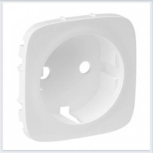 Накладка розетки 2К+З Белая Valena Allure 755205