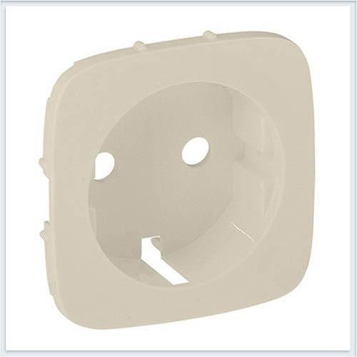 Накладка розетки 2К+З Слоновая кость Valena Allure 755206