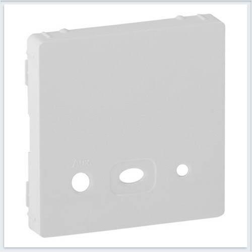 Накладка для аудио-входа Белая Valena Life 755450