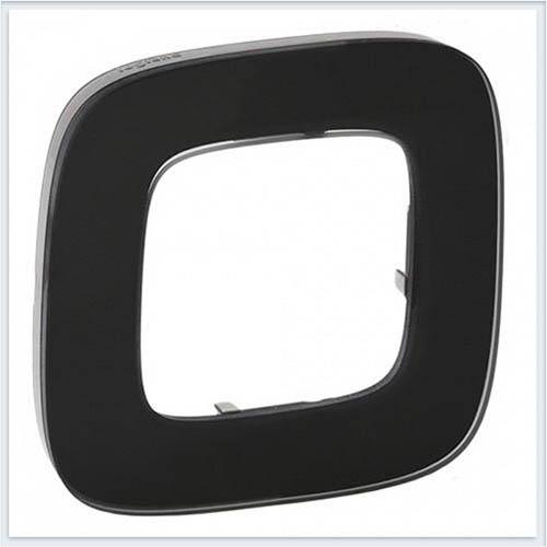 Valena Allure Рамка 1-ая Черное стекло 755531