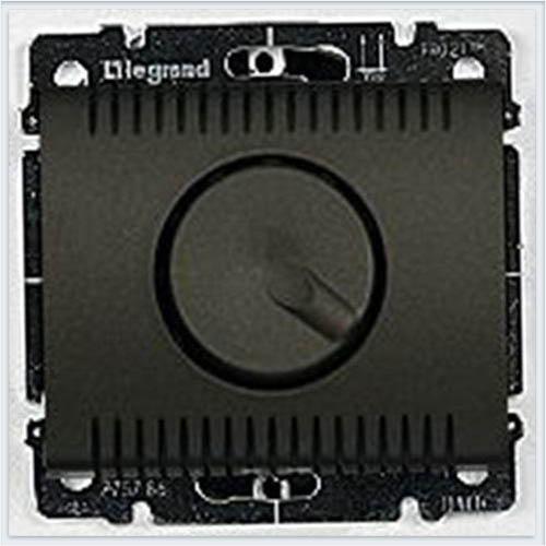 Накладка для светорегулятора поворотного 1000Вт Legrand Galea Life Темная Бронза 771259