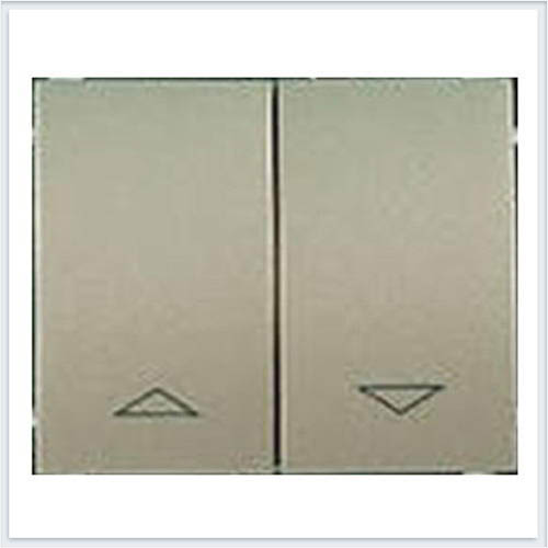 Клавиша 2-я для жалюзийного выключателя Legrand Galea Life Титан 771414