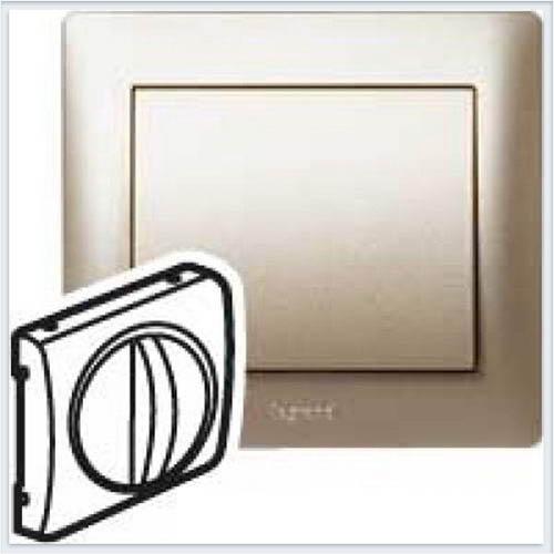 Накладка поворотного выключателя Legrand Galea Life Титан 771457