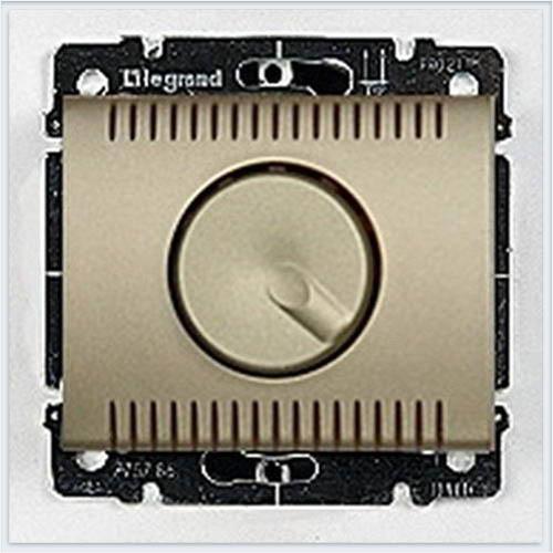 Накладка для светорегулятора поворотного 1000Вт Legrand Galea Life Титан 771459