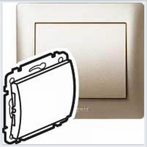 Накладка заглушки с суппортом Legrand Galea Life Титан 771478