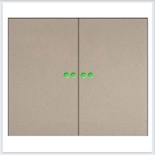Клавиша 2-ая c точечной подсветкой Legrand Galea Life Титан 771479