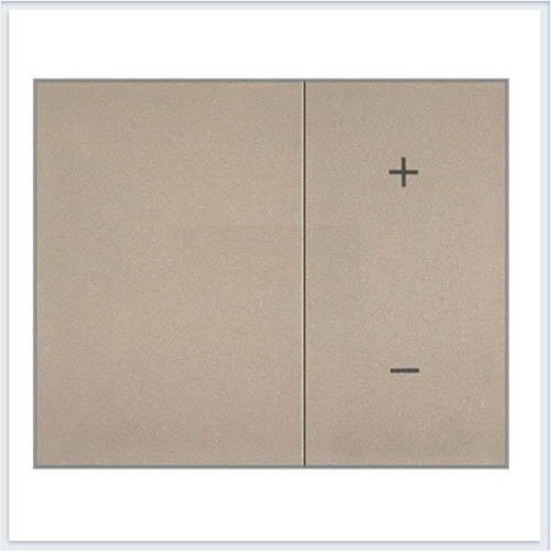 Накладка светорегулятора нажимного Legrand Galea Life Титан 771486