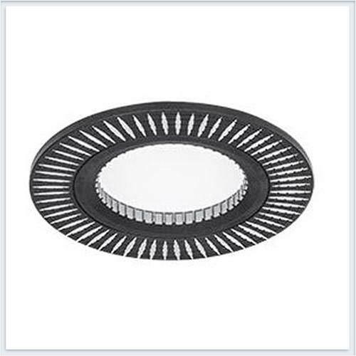 Точечный Светильник для натяжных - подвесных и реечных потолков круглый Gauss Aluminium - AL014