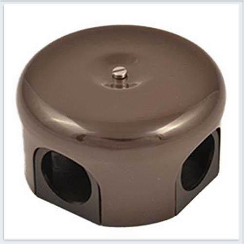 Bironi распределительная коробка, фарфор цвет коричневый 78 мм. B1-521-02