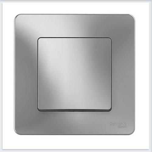 Blanca Алюминий Выключатель 1-клавишный, 10А, 250B