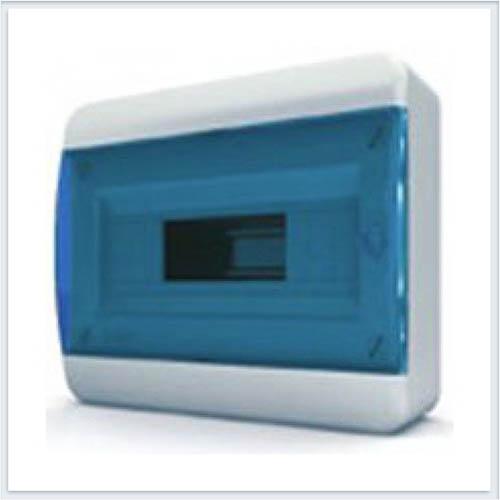 Щит навесной 12 модулей синяя дверь Tekfor - BNS 40-12-1