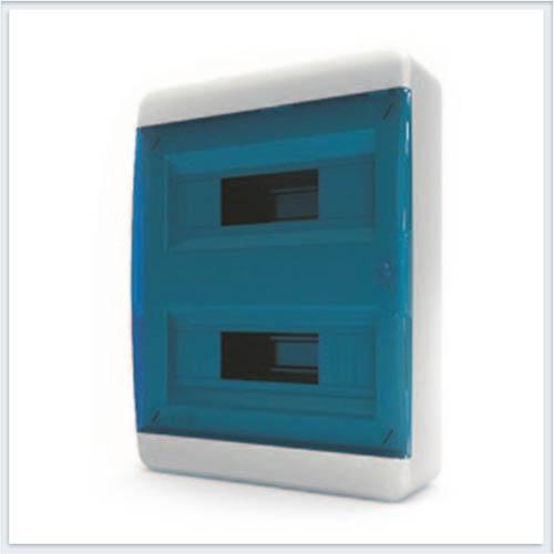 Щит навесной 24 модулей синяя дверь Tekfor - BNS 40-24-1
