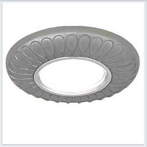 Точечный светильник для натяжных - подвесных и реечных потолков Gauss Antique Exclusive Круг Титан - CA083