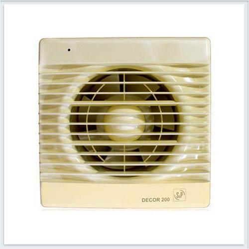 Вентилятор бытовой бежевый Decor 200C IVORY Soler Palau