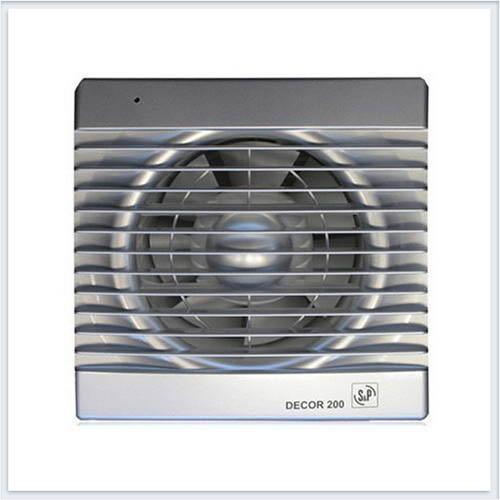 Вентилятор бытовой серебро Decor200CSILVER Soler Palau