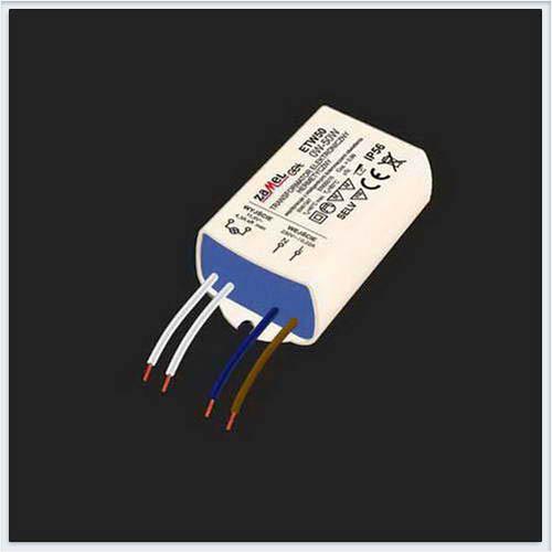 Zamel Электронный трансформатор 230/11,5V 0-50W герм. IP56 - ETW50