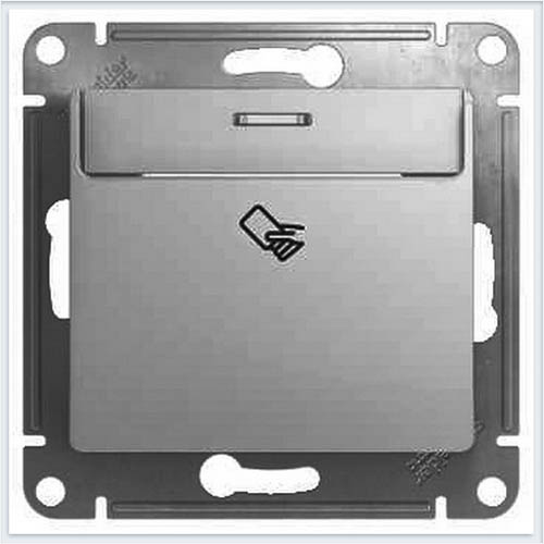 Выключатель карточный Glossa Алюминий GSL000369
