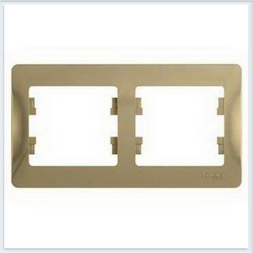 Рамка 2-я, горизонтальная Glossa Титан GSL000402