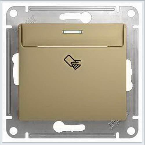 Выключатель карточный, сх.6 Glossa Титан GSL000469