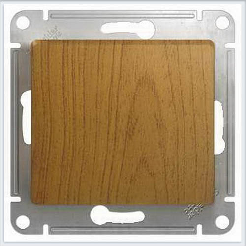 Выключатель 1-клавишный Дерево Дуб GSL000511