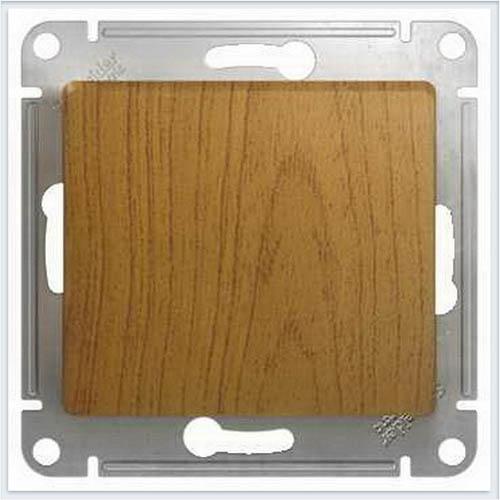 Переключатель 1-клавишный Дерево Дуб GSL000561