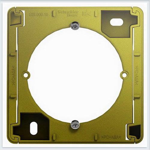 Коробка для наружного монтажа Glossa Фисташковый  GSL001000