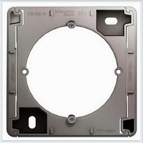 Коробка для наружного монтажа Glossa Платина  GSL001200