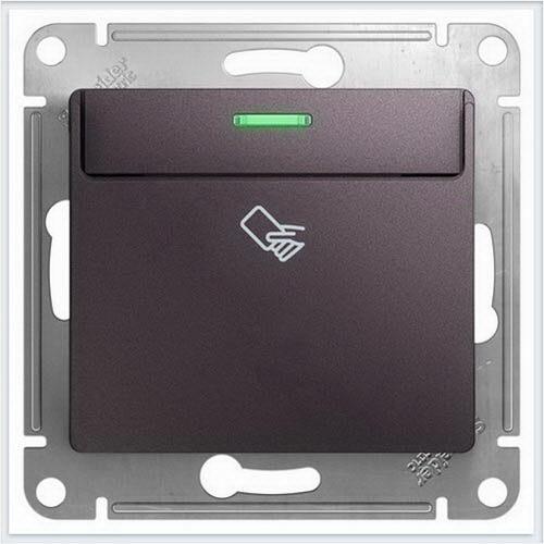 Выключатель карточный Glossa Сиреневый туман  GSL001469
