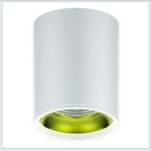 Светильник накладной HD010 12W белый золото