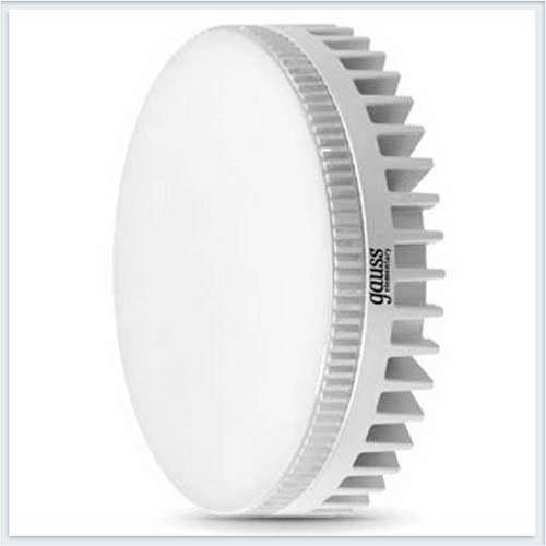 Светодиодная лампа Gauss GX53 6W 4100K - 108008206