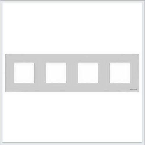 ABB Niessen Zenit - Niessen Zenit рамки - Рамки zenit серебро - N2274 PL