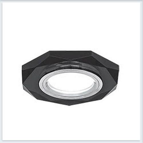 Точечный светильник для натяжных - подвесных и реечных потолков многогранный Gauss Mirror - RR014