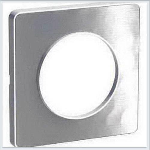Рамка 1-я Алюминий Mартель Schneider-Electric Коллекция Odace арт. S52P802K